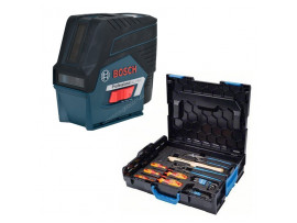 Лазерный уровень Bosch GCL 2-50 C+RM3+BM 3 clip RC 2 L-Boxx+GEDORE set (0.615.994.0KG)